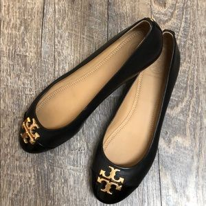 NWT Tory Burch Everly Flat size 7